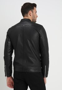 Lindbergh - Leather jacket - black - 2