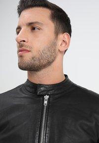 Lindbergh - Leather jacket - black - 4