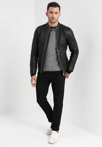 Lindbergh - Leather jacket - black - 1