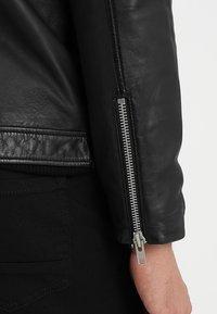 Lindbergh - Leather jacket - black - 7