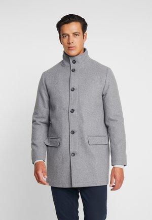 COAT STAND UP COLLAR - Wollmantel/klassischer Mantel - grey