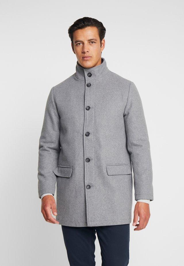 COAT STAND UP COLLAR - Classic coat - grey