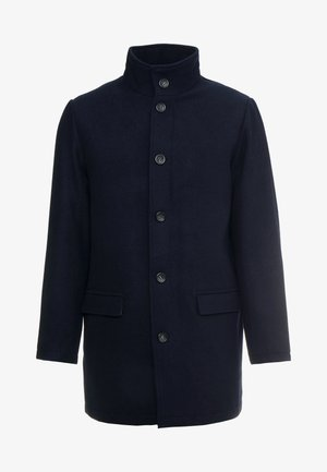 COAT STAND UP COLLAR - Cappotto classico - navy