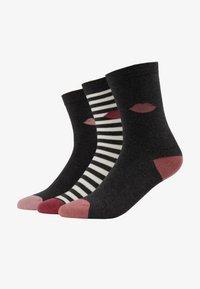 Lulu Guinness - CLASSIC SOCKS 3 PACK - Sokken - multi-coloured - 1