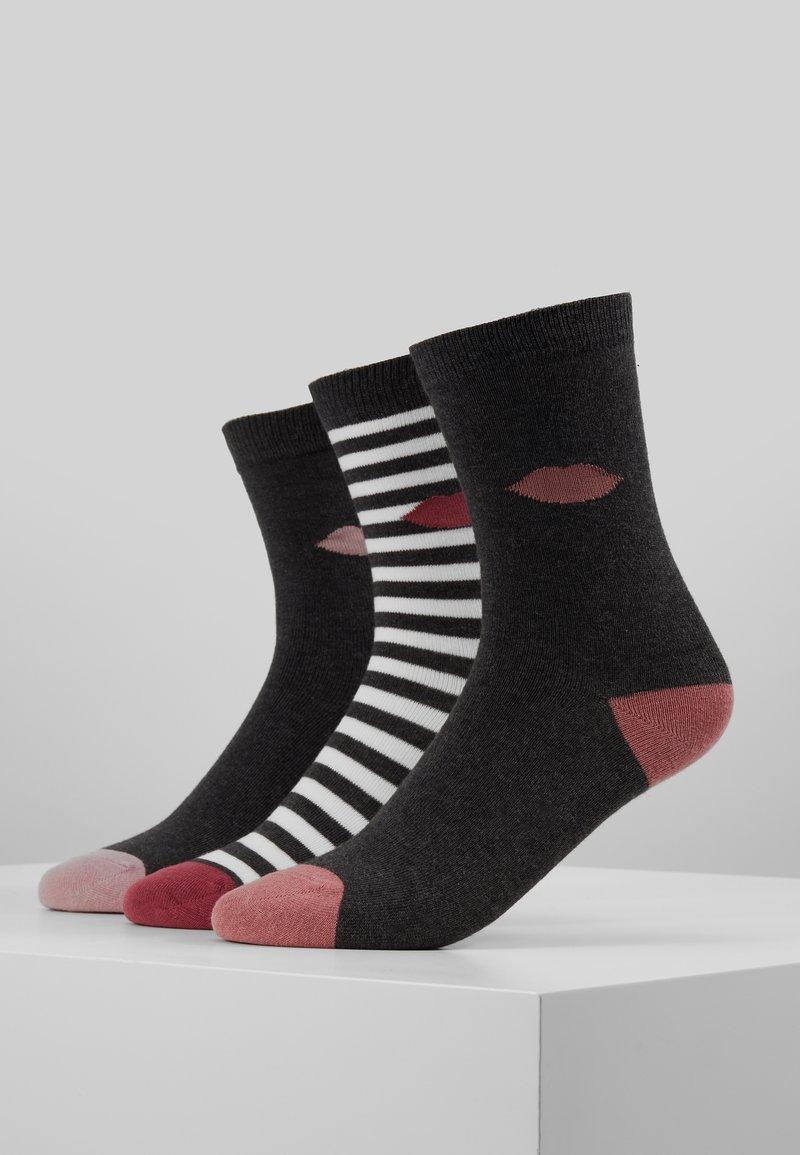 Lulu Guinness - CLASSIC SOCKS 3 PACK - Sokken - multi-coloured