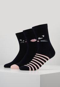 Lulu Guinness - KOOKY CAT SOCKS 3 PACK - Sokken - multi - 0