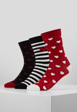 HEARTS SOCKS 3 PACK - Calcetines - multi