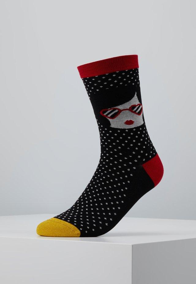 SASSY SOCKS - Socks - black