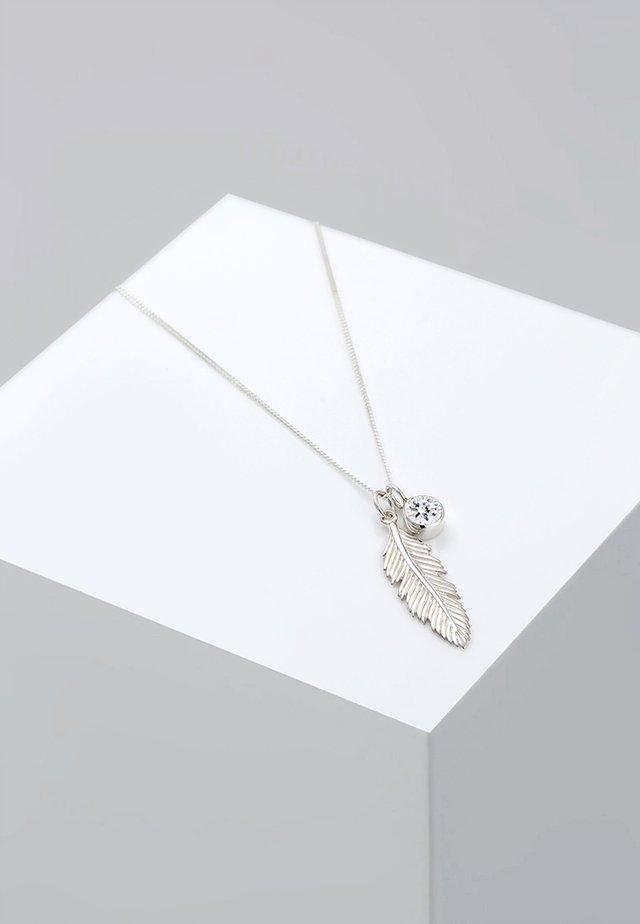FEDER  - Ketting - silver-coloured