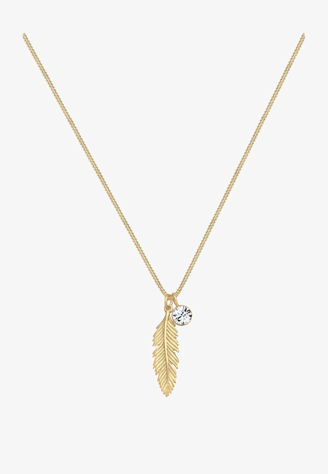 FEDER  - Ketting - gold-coloured
