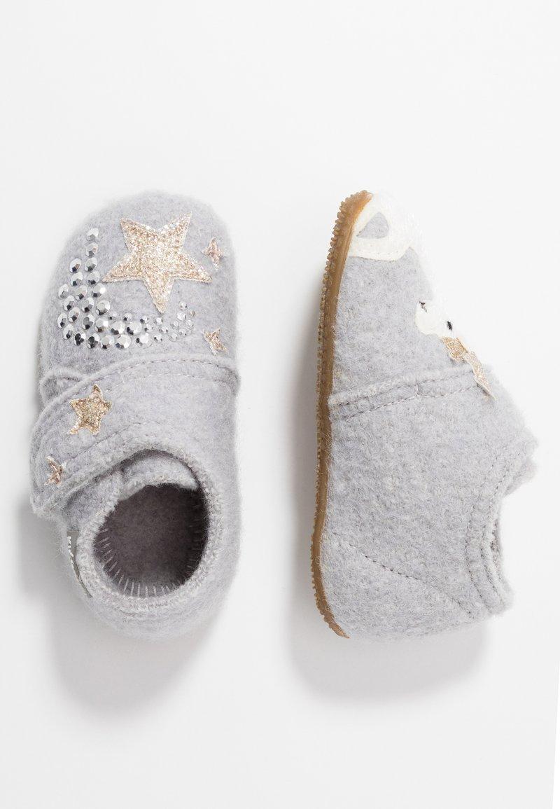 Living Kitzbühel - EINHORN - Baby shoes - hellgrau