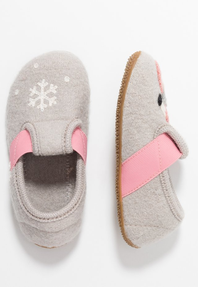 T-MODELL WINTERFLAMINGO - Hausschuh - grey