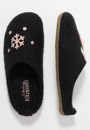 WINTERFLAMINGO - Pantofole - schwarz