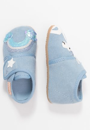 BABYKLETT EINHORN & REGENBOGEN - First shoes - hellblau