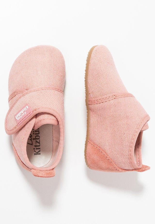 Slippers - dark rose cloud