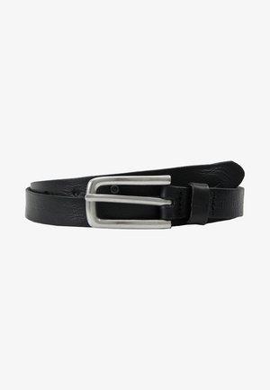 NATURE - Formální pásek - black