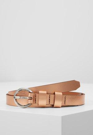 Cinturón - metallic rose