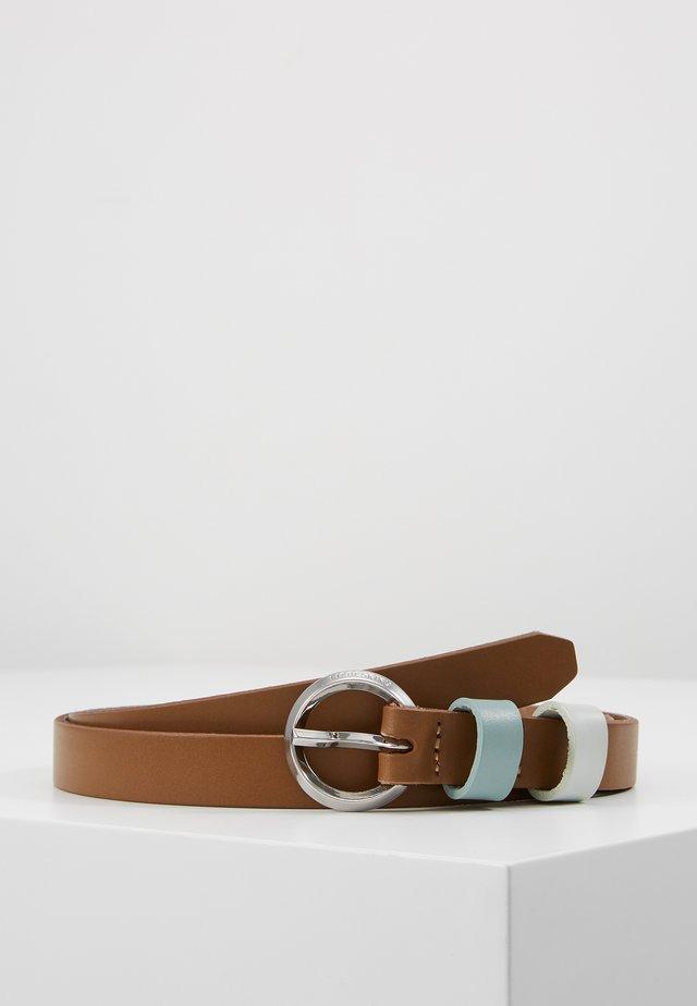 BELT VACCHE - Cintura - tiger beige