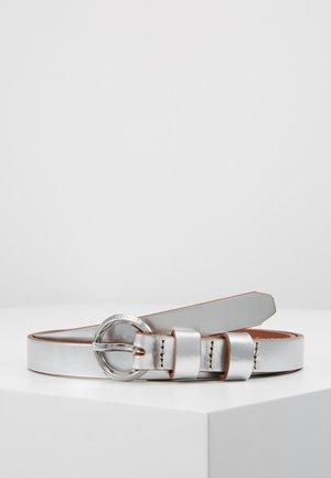 BELT - Gürtel - silver