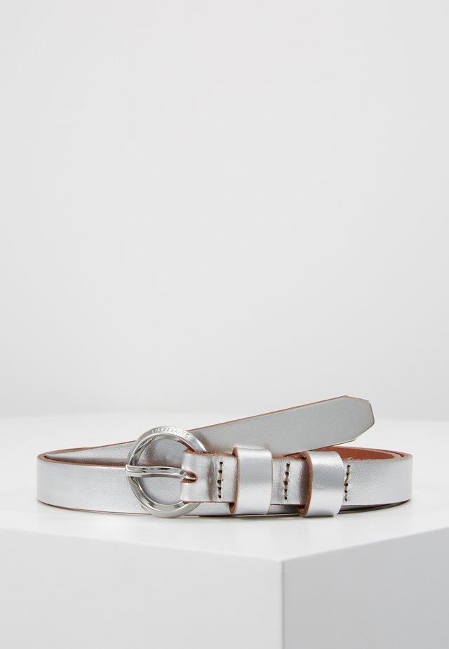 BELT - Pásek - silver