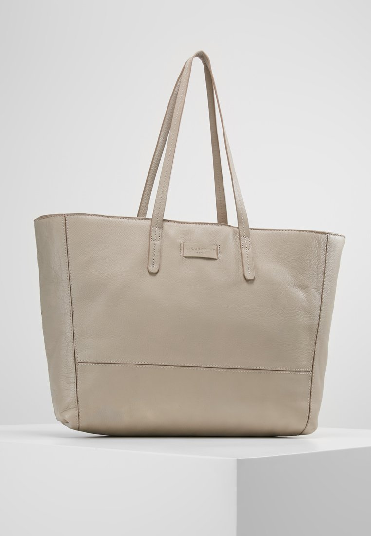 Liebeskind Berlin - SHOPPER - Tote bag - string grey