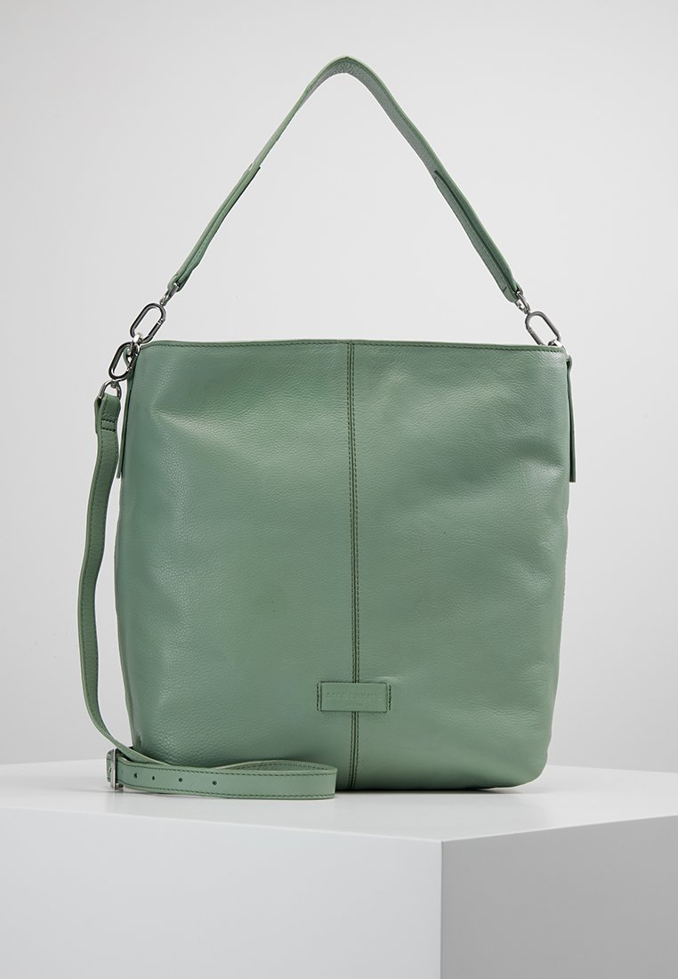 Liebeskind Berlin - ESSENTIAL HOBO MEDIUM - Shopping Bag - hedge green