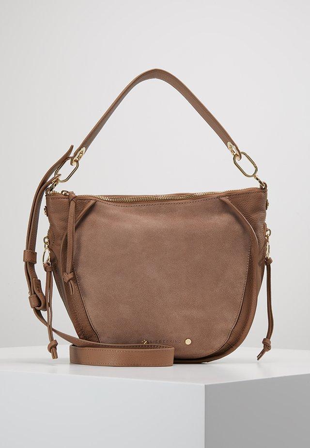 SADDY CROSSBODY SMALL - Handbag - tiger beige