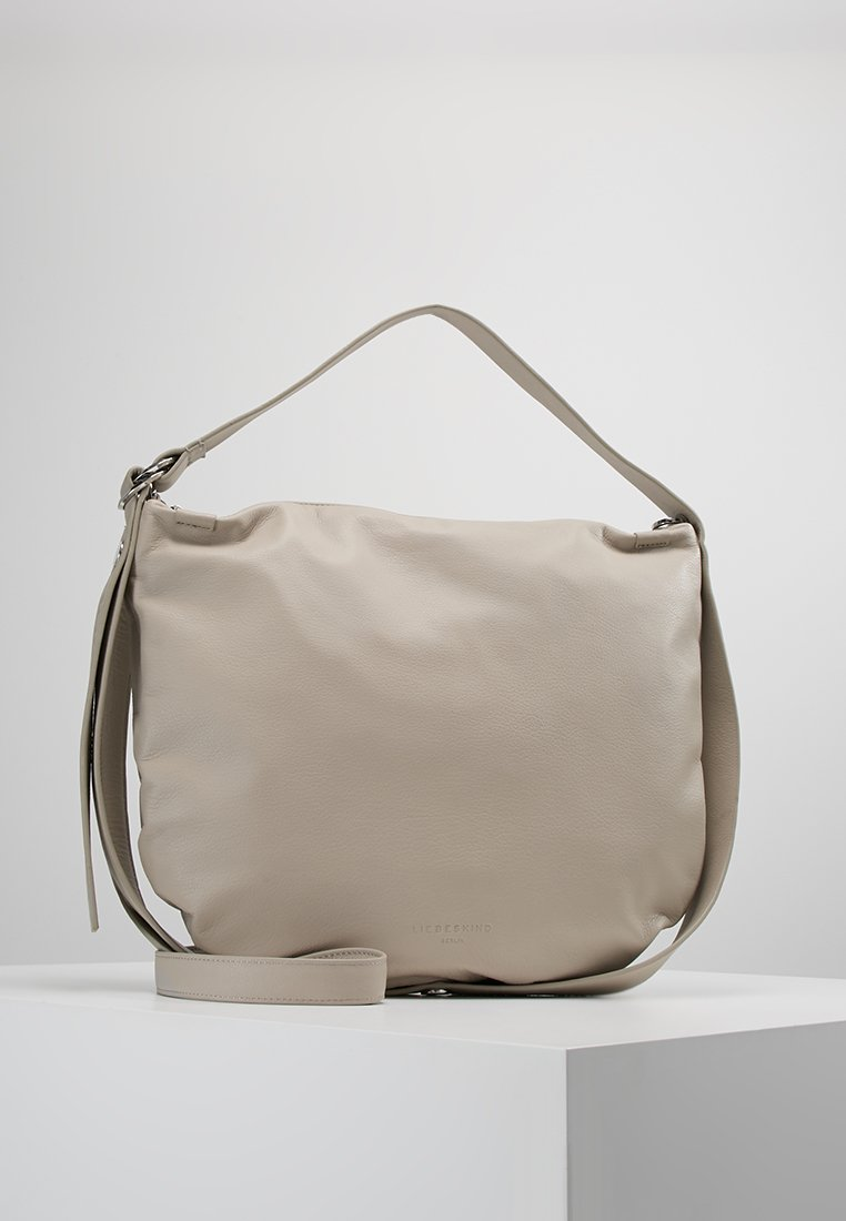 Liebeskind Berlin - RING RING MEDIUM - Bolso de mano - string grey