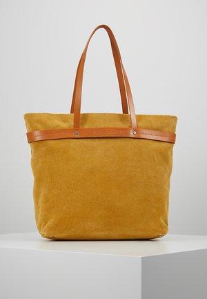 Shopper - tawny yellow