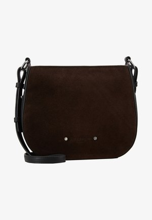DPCROSSBM - Taška spříčným popruhem - dark brown