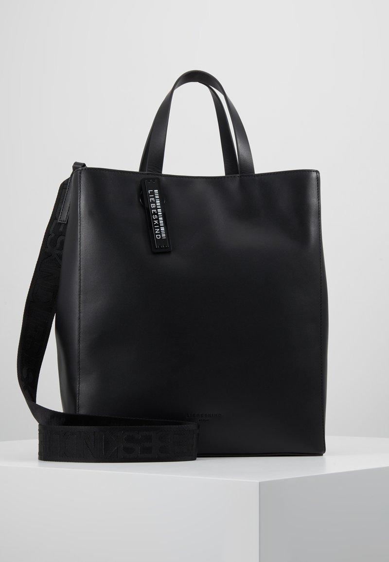 Liebeskind Berlin - PAPERBAG - Handbag - black