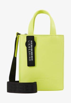 PAPERBXS - Borsa a mano - neon yellow