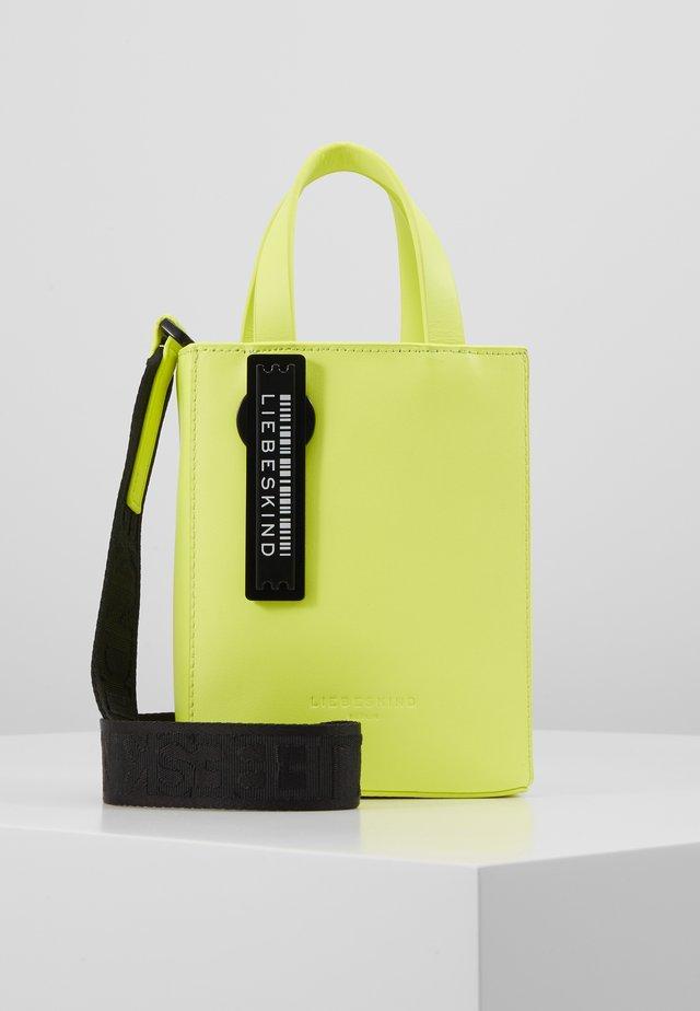 PAPERBXS - Sac à main - neon yellow