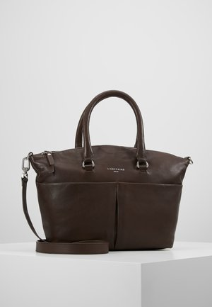 PLBOWLINM - Handtasche - dark brown