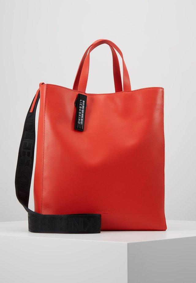PABTOTEM - Handtasche - poppy red