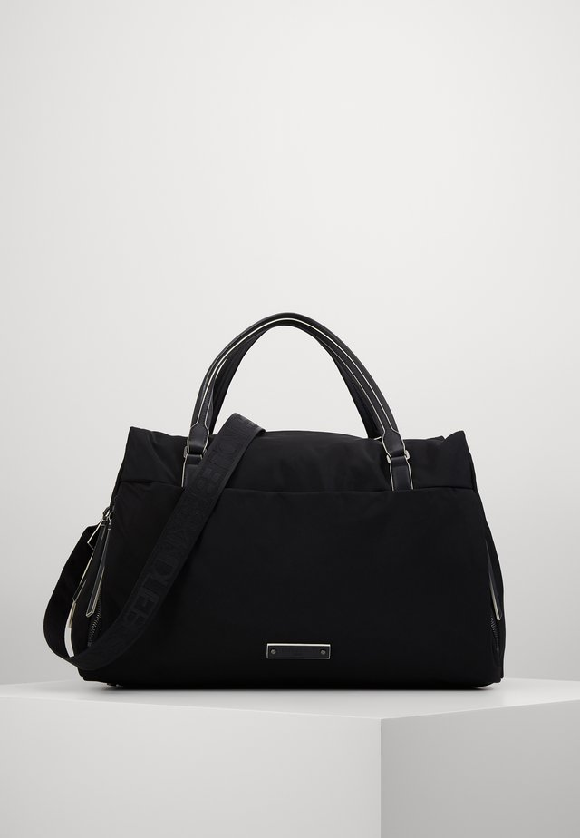 MOWEEKEND MONTKA - Weekendbag - black