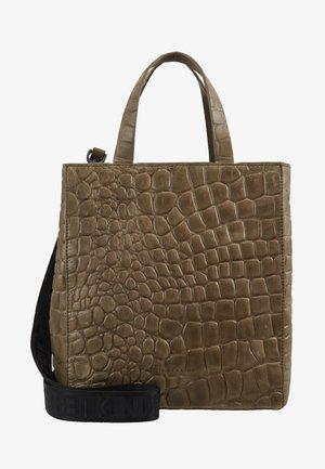 PABTOTES - Shopping Bag - dark oliv green
