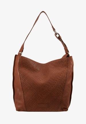 SAHOBOM - Handväska - medium brown