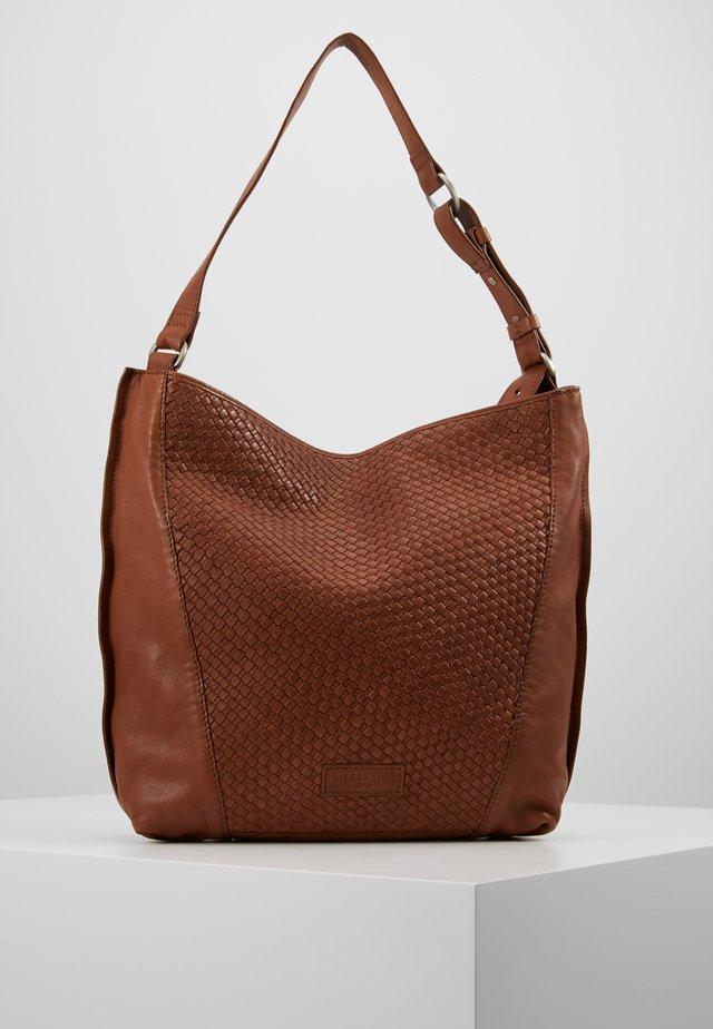 SAHOBOM - Handtasche - medium brown