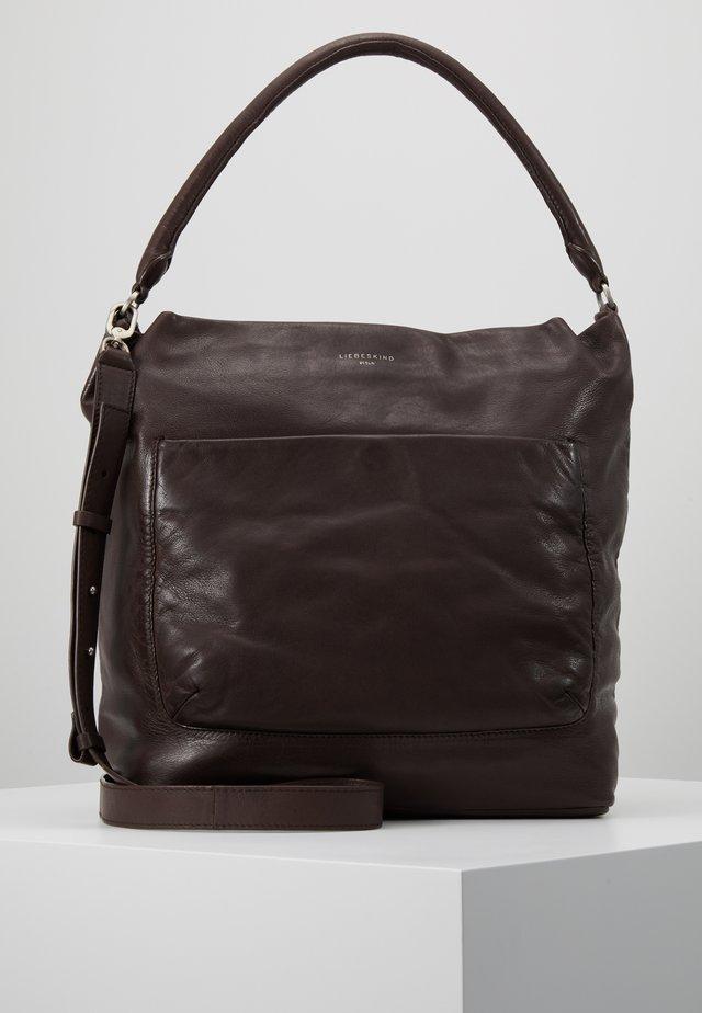 ERHOBOL - Shopping bags - dark brown