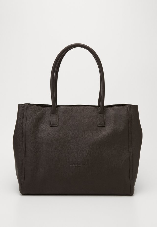 Shopping bags - dark chocolate