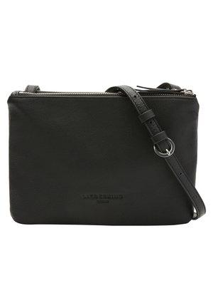 PEPINO CROSSBODY S FLACHE CROSSBODY BAG MIT COLOR BLOCKING - Across body bag - black