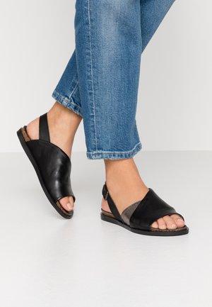 VANDA - Sandals - twister nero