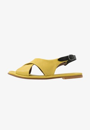 LINDA - Sandales - twister lemon