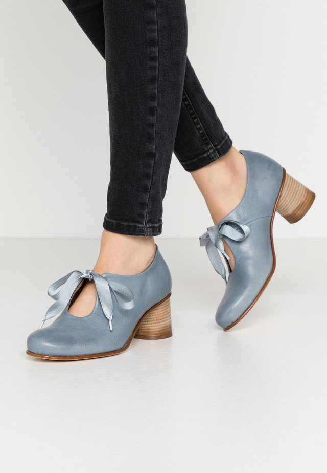 ASTRID - Lace-up heels - twister artic