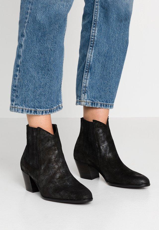 FEDORA - Boots à talons - koko nero