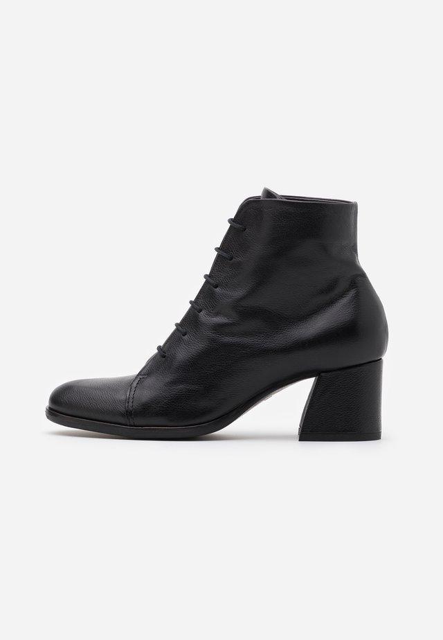 Boots à talons - twister nero