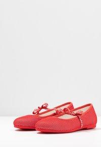 LIU JO - AUDRINE - Ballerinat nilkkaremmillä - coral - 3