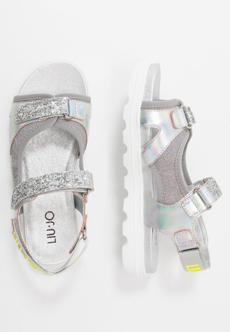 LIU JO - INGRID - Sandały - silver