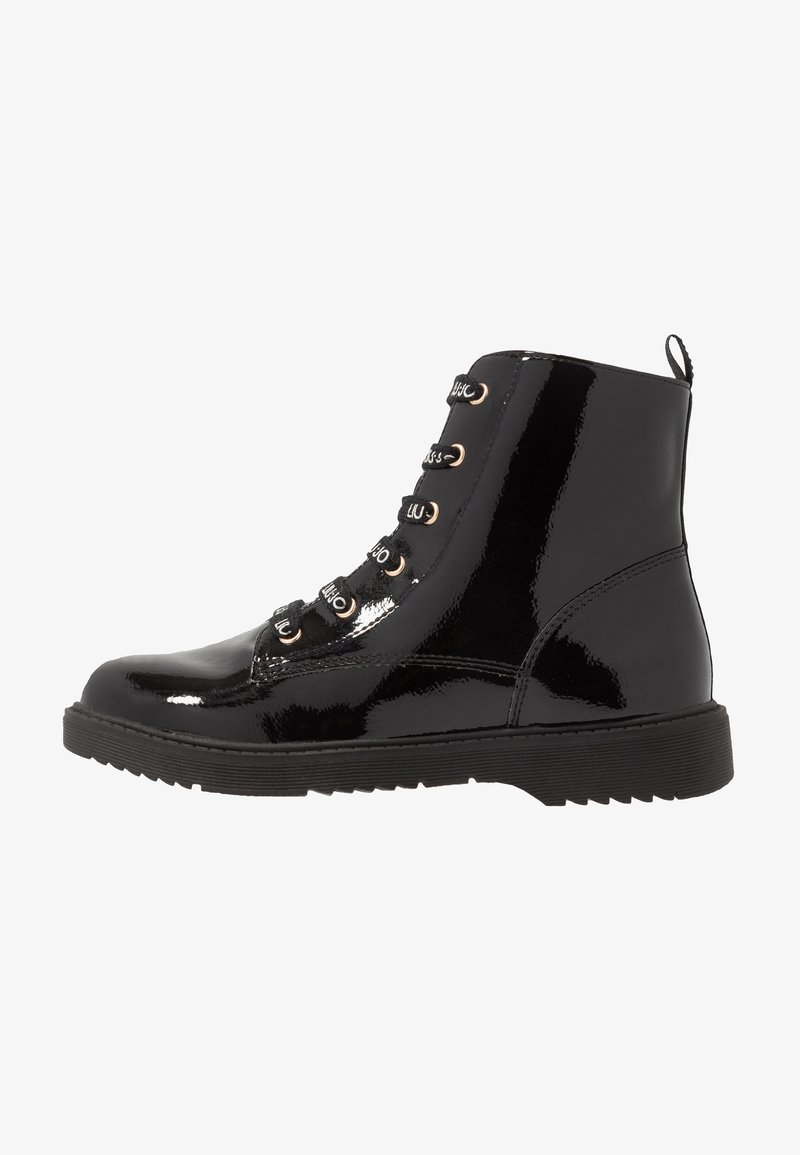 LIU JO - Bottines à lacets - black